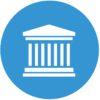 Law icon set. lawyer icon, law logo set.